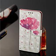 billiga Mobil cases & Skärmskydd-fodral Till Xiaomi Redmi Note 5 Pro / Xiaomi Mi Mix 2S Plånbok / Korthållare / med stativ Fodral Blomma Hårt PU läder för Xiaomi Redmi Note 5 Pro / Xiaomi Mi Mix 2S