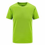 Rund hals Herre - Ensfarvet Basale Sport T-shirt / Kortærmet