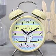 billiga Väckarklockor-Väckarklocka Analog-digital Metall Quartz 1 pcs