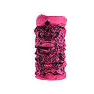 ROCKBROS Balaclava Pink Windproof Warm Camping / Hiking Cycling / Bike Running Women's Cool Skulls Rayon / High Elasticity