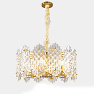 billiga Belysning-QIHengZhaoMing 6-Light Kristall Ljuskronor Glödande 110-120V / 220-240V, Varmt vit, Glödlampa inkluderad / 15-20㎡