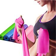 baratos Equipamentos & Acessórios Fitness-Faixas para Exercícios de Resistência Com 1 pcs Emulsão Elástico Treinamento de Resistência, Fisioterapia Para Ioga / Pilates / Fitness Casa / Escritório