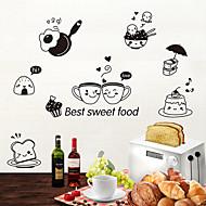 billiga Väggklistermärken-Dekrativa Väggstickers / Klistermärken för kylskåp - Animal Wall Stickers Djur Vardagsrum / Sovrum / Badrum