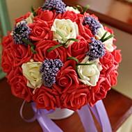 billige Kunstige blomster-Kunstige blomster 11 Gren Bryllup Hortensiaer Bordblomst