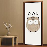 Χαμηλού Κόστους Top Selling Wall Stickers-Διακοσμητικά αυτοκόλλητα τοίχου / Αυτοκόλλητα πόρτας - Animal αυτοκόλλητα τοίχου / Διακοπών Αυτοκόλλητα Τοίχου Ζώα / Χριστούγεννα Σαλόνι