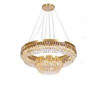 billiga Belysning-QIHengZhaoMing 2-Light Kristall Ljuskronor Glödande 110-120V / 220-240V, Varmt vit, Glödlampa inkluderad / 15-20㎡ / Integrerad LED