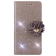 billiga Mobil cases & Skärmskydd-fodral Till Huawei Y625 / Enjoy 5S Plånbok / Korthållare / Strass Fodral Enfärgad Hårt PU läder för huawei Y635 / Huawei Y625 / Huawei Enjoy 6s