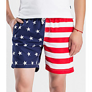 Herre Gade Shorts Bukser Farveblok