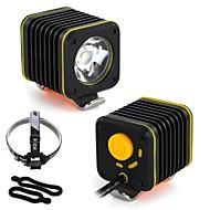 billige Sykkellykter og reflekser-Frontlys til sykkel LED Sykling Vanntett, Bærbar Lithium-batteri 1200 lm Camping / Vandring / Grotte Udforskning / Sykling
