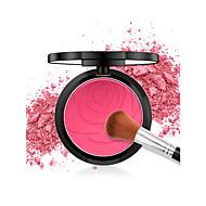 4 Colors Blush 1 pcs Matte Durable Blush China Matte Women / Youth School / Daily Wear / Date Makeup Cosmetic
