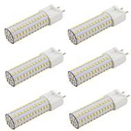 billige Bi-pin lamper med LED-9w g12 led corn lys 108 leds smd 2835 varm hvit kald hvit AC 85-265v 110v 220v (6 stk)