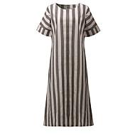 Damskie Wyjściowe Luźna Zmiana Sukienka Maxi
