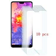 billiga Mobiltelefoner Skärmskydd-Skärmskydd för Huawei Huawei P20 Härdat Glas 10 st Displayskydd framsida 9 H-hårdhet / Reptålig