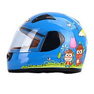 YEMA 203 Fullface-hjelm Børn Unisex Motorcykel hjelm Stødsikker / Anti-UV / Vindtæt