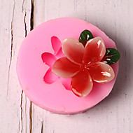 billige Bakeredskap-Bakeware verktøy Silikon Ferie / 3D-tegneseriefigur / Kreativ Kake / Sjokolade / For kjøkkenutstyr Rund Cake Moulds 1pc