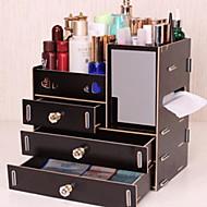 billige Lagring og oppbevaring-Plast Rektangulær Nytt Design Hjem Organisasjon, 1pc Makeup Oppbevaring