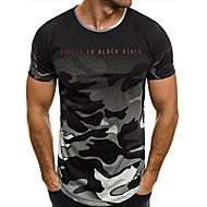 Herre - Geometrisk Basale T-shirt