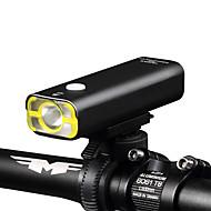 billige Sykkellykter og reflekser-Frontlys til sykkel LED XP-G2 Sykling Vanntett, Oppladbar, Mulighet for demping 18650 400 lm Innebygd Li-batteridrevet Camping / Vandring / Grotte Udforskning / Dagligdags Brug / Sykling - Wheel up