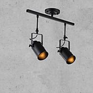 billige Spotlys-2-Light Spotlys Nedlys Malte Finishes Metall 110-120V / 220-240V Pære ikke Inkludert