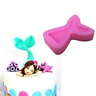 billige Bakeredskap-Bakeware verktøy Silikongel 3D / Bursdag For kjøkkenutstyr Cake Moulds 1pc