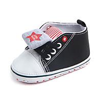 baratos Sapatos de Menino-Para Meninos Sapatos Algodão Primavera & Outono Primeiros Passos Tênis para Bebê Preto / Marron / Azul