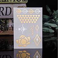 billiga Temporära tatueringar-Trustfire 1 pcs Tatueringsklistermärken tillfälliga tatueringar Totemserier Ministil / Miljövänlig / Engångsvara Body art Kropp / händer / arm / Tattoo Sticker
