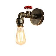 baratos Arandelas de Parede-OYLYW Estilo Mini Rústico / Campestre / Clássica / Vintage Luminárias de parede Sala de Estar / Entrada Metal Luz de parede 110-120V / 220-240V 60 W / E26 / E27