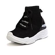 baratos Sapatos de Menino-Para Meninos Sapatos Com Transparência Primavera Verão Conforto Tênis Basquete Cadarço para Adolescente Branco / Preto / Vermelho
