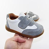 baratos Sapatos de Menino-Para Meninos Sapatos Camurça Primavera & Outono Conforto Tênis Velcro para Bébé Cinzento / Verde