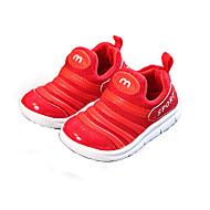 baratos Sapatos de Menino-Para Meninos / Para Meninas Sapatos Com Transparência Primavera & Outono Conforto Tênis Basquete para Infantil Preto / Vermelho / Rosa claro