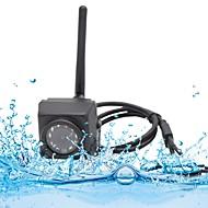 billige Utendørs IP Nettverkskameraer-HQCAM 720P Waterproof Outdoor IP66 HD Mini Wifi IP Camera Motion Detection Night Vision SD Card Support Android iPhone P2P Camhi 1 mp IP Camera Utendørs Support0 GB