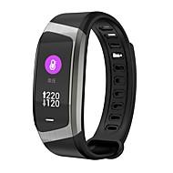 JSBP YY-E18 Умный браслет Android iOS Bluetooth Пульсомер Измерение кровяного давления Сенсорный экран Израсходовано калорий / Длительное время ожидания / Педометр / Напоминание о звонке
