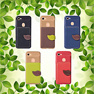 billiga Mobil cases & Skärmskydd-fodral Till OPPO F5 / A57 Plånbok / Korthållare / med stativ Skal Enfärgad Mjukt PU läder för Oppo F5 / OPPO A57 / Oppo A39