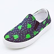baratos Sapatos de Menina-Para Meninas Sapatos Jeans Primavera Verão Conforto Mocassins e Slip-Ons Caminhada para Infantil Laranja / Fúcsia / Verde