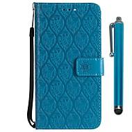 billiga Mobil cases & Skärmskydd-fodral Till Sony Xperia XZ2 Compact / Xperia XZ2 Plånbok / Korthållare / med stativ Fodral Blomma Hårt PU läder för Xperia XZ2 / Xperia XZ2 Compact / Xperia XZ1 Compact