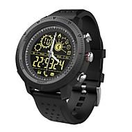 tanie Inteligentne zegarki-Inteligentny zegarek NX02 na iOS / Android Wodoodporne / Spalone kalorie / Długi czas czuwania / Twórczy / New Design Stoper / Krokomierz / Powiadamianie o połączeniu telefonicznym / Rejestrator