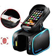 CoolChange Mobilveske / Vesker til sykkelramme / Topprute 6.2 tommers Berøringsskjerm, Reflekterende, Vanntett Sykling til Samsung Galaxy S6 / iPhone 5C / iPhone 4/4S Svart / iPhone 8/7/6S/6