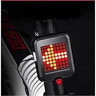 billige Sykkellykter og reflekser-Baklys til sykkel / sikkerhet lys / sikkerhets reflektorer LED Sykkellykter LED Sykling Vanntett, Bærbar, Kul USB 80 lm Usb Rød Sykling - INBIKE / ABS / Flere moduser