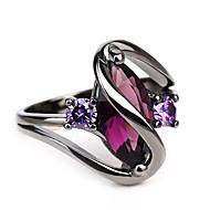 สำหรับผู้หญิง สไตล์วินเทจ สไตล์ เล่นไพ่คนเดียว แหวน พลอยเทียม Eyes ตาปีศาจ สุภาพสตรี ไม่ปกติ ดีไซน์เฉพาะตัว Barroco Rock แฟชั่น แหวนแฟชั่น เครื่องประดับ สีดำ สำหรับ