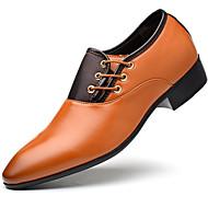 Muškarci Formalne cipele PU Proljeće Oksfordice Crn / Bijela / Braon / EU42