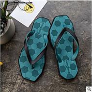 baratos Sapatos Masculinos-Homens PVC Verão Conforto Chinelos e flip-flops Cinzento / Verde Claro / Verde Escuro