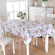 billige Bordduker-Moderne PVC Kvadrat Duge Blomstret Borddekorasjoner 1 pcs