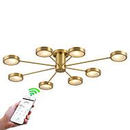 billige Taklamper-ZHISHU 8-Light Sputnik / Originale Takplafond Nedlys Messing Metall Kreativ, WIFI-kontroll 110-120V / 220-240V Pære Inkludert / G4