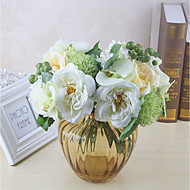 Cheap artificial flowers online artificial flowers for 2018 artificial flowers 8 branch classic single stylish pastoral style roses hydrangeas tabletop flower mightylinksfo