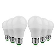 billige Globepærer med LED-YWXLIGHT® 6pcs 5 W 400-500 lm E26 / E27 LED-globepærer 10 LED perler SMD 5730 Varm hvit / Kjølig hvit 12 V