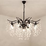billiga Belysning-ZHISHU 9-Light Sputnik / Kristall / Originella Ljuskronor Fluorescerande - Kreativ, Ny Design, 110-120V / 220-240V Glödlampa inte inkluderad