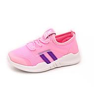baratos Sapatos de Menina-Para Meninas Sapatos Com Transparência Outono & inverno Conforto Tênis Caminhada para Adolescente Preto / Cinzento / Rosa claro