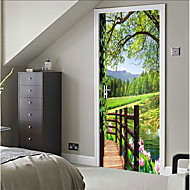 Dekorative Mur Klistermærker - 3D mur klistermærker Sille Liv / 3D Soveværelse / Indendørs