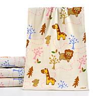 tanie Ręcznik kąpielowy-Najwyższa jakość Ręcznik kąpielowy, Geometryczny / Rysunek 100% bawełna Łazienkowe 1 pcs