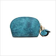 Χαμηλού Κόστους Πορτοφόλι για Νομίσματα-Γυναικεία Τσάντες PU Θήκη για κέρματα Φερμουάρ Ανθισμένο Ροζ / Μπεζ / Σκούρο μπλε